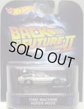 2015 RETRO ENTERTAINMENT 【TIME MACHINE HOVER MODE】 SILVER/RR (BACK TO THE FUTURE II)