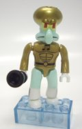 MEGA BLOKS - THE SPONGEBOB MOVIE SPONGE OUT OF WATER S2 【SQUIDWARD TENTACLES】 TEAL