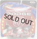 "1/43 2002 ACTION - NASCAR WINNER'S CIRCLE 【""#9 DODGE"" DODGE CHARGER】 RED (with 1/18 RACE HOOD)"