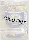 "2008 ACTION WINNWER'S CIRCLE - NASCAR 【""#24 DU PONT"" CHEVY IMPALA SS】 BLUE-RED (with 1/24 HOOD)"