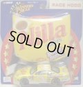 "1/43 2002 ACTION - NASCAR WINNER'S CIRCLE 【""#3 NILLA WAFERS"" CHEVY MONTE CARLO】 YELLOW (with 1/18 RACE HOOD)"