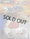 "2002 HOT WHEELS RACING ""STICKER"" 【#40 TEAM STERLING MARLIN DODGE INTREPID】 SILVER/RR"