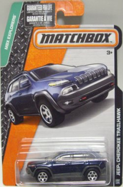 画像1: 2016 【'14 JEEP CHEROKEE TRAILHAWK】 NAVY (NEW CAST)