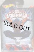 """2015 HW MARVEL """" ULTIMATE SPIDER-MAN"""" 【SHREDSTER】 RED-BLACK/PR5 (SPIDER-MAN 2099)"""