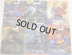 画像1: 2016 POP CULTURE - BATMAN and SUPERMAN【6種セット】 VW T1 PANEL BUS/1980 DODGE MACHO POWER WAGON/'71 EL CAMINO/QUICK D-LIVERY/'34 DODGE DELIVERY BUS/CUSTOM '52 CHEVY