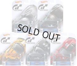 """画像1: 2016 RETRO ENTERTAINMENT 【Cアソート """"GRAN TURISMO"""" 5種セット】 Nissan 2020 Concept Vision GT/Nissan GT-R/Lamborghini Veneno/Ford GT/Corvette C7-R"""