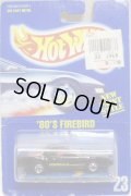 【'80's FIREBIRD】 BLACK/BW (#23 CARD/VERY RARE)