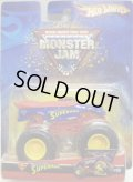 2006 MONSTER JAM 【SUPERMAN】 BLUE-RED