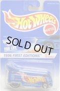 HW30周年復刻版-1996 【VW DRAG BUS】 RACE TEAM BLUE/5SP (外箱なし)