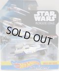 "2017 HW STAR WARS CARSHIPS 【""ROGUE ONE"" REBEL U-WING FIGHTER】 SILVERGRAY/PR5"