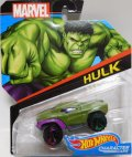 2017 HW MARVEL 【HULK】 GREEN/OR6SP (2017 CARD)