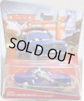 2016 DISNEY CARS 【BRENT MUSTANGBURGER WITH HEADSET】 BLUE