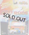 2016 JOHNNY LIGHTNING - STREET FREAKS S2 【1964 VW TYPE 2 TRANSPORTER】 RED-YELLOW-WHITE (SURF RODS)
