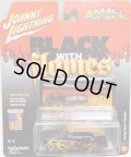 2016 JOHNNY LIGHTNING - STREET FREAKS S2 【GEORGE BARRIS PHAETON】 BLACK-BROWN (BLACK WITH FLAMES)