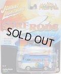 2016 JOHNNY LIGHTNING - STREET FREAKS S2 【1964 VW TYPE 2 TRANSPORTER】 BLUE-WHITE (SURF RODS)