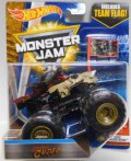 2017 MONSTER JAM includes TEAM FLAG! 【PIRATE'S CURSE】 BLACK-TAN (EPIC ADDITIONS)
