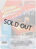 2017 JOHNNY LIGHTNING - MUSCLE CARS USA R1 【1970 OLDS CUTLASS S W-31】 BLACK/RR (1672個限定)