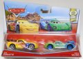 2017 DISNEY CARS 2CAR PACK 【JEFF GORVETTE / CARLA VELOSO】