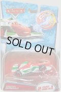 2016 DISNEY CARS COLOR CHANGERS 【FRANCESCO BERNOULLI】 WHITE-RED