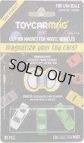 【TOY CAR MAG (10個入り)】 ルースのミニカーに取り付ける磁石です。