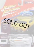 2017 JOHNNY LIGHTNING - MUSCLE CARS USA R1D 【1970 FORD TORINO GT】 WHITE/RR (WHITE LIGHTNING)
