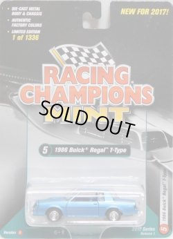 画像1: 2017 RACING CHAMPIONS MINT COLLECTION R1B 【1986 BUICK REGAL T-TYPE】 BLUESILVER/RR (1336個限定)