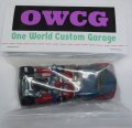 ONE WORLD CUSTOM GARAGE 【'49 FORD COE KUSTOM with GO KART (カスタム完成品)】 GRAY-RED/RR-5SP (送料サービス適用外)