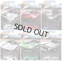 """画像1: 2017 """"FORZA MOTOR SPORT"""" 【6種セット (7種の内のCHASEを除く6種)】('09 FORD FOCUS RS/McLAREN P1/BMW M4/LAMBORGHINI HURACAN  LP 610-4/'13 SRT VIPER/AMC JAVELIN AMX)"""