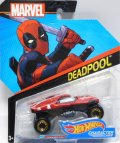 2017 HW MARVEL 【DEAD POOL】 RED/BLOR