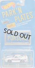 1989 PARK'N PLATES 【PORSCHE 959】 WHITE/UH  (BLUE PLATE)