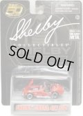 """SHELBY COLLECTIBLES  """"50TH ANNVERSARY""""【SHELBY COBRA 427 S/C】 RED/RR"""