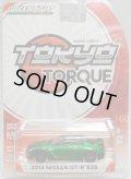 2017 GREENLIGHT TOKYO TORQUE S1 【2014 NISSAN GT-R R35】MET.GREEN/RR (GREEN MACHINE)