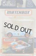 2018 MATCHBOX GLOBE TRAVELERS 【FORD GT40 (GULF)】 FLAT LT.BLUE/RR(予約不可)