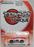 2017 GREENLIGHT TOKYO TORQUE S1 【1970 BRE DATSUN 240Z (#46)】WHITE-RED/RR