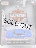 2016 MAISTO - HARLEY DAVIDSON 【1955 BUICK CENTURY】 BLUE/RR