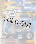 2018 MONSTER JAM includes RE-CRUSHABLE CAR! 【GRAVE DIGGER】 BLACK (NITE GLO CAGE)