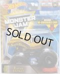 2018 MONSTER JAM includes RE-CRUSHABLE CAR! 【EARTH SHAKER】 YELLOW (EPIC ADDITIONS)(2018 NEW TRACK!)