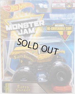 画像1: 2018 MONSTER JAM includes RE-CRUSHABLE CAR! 【EARTH SHAKER】 YELLOW (EPIC ADDITIONS)(2018 NEW TRACK!)