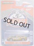 2018 GREENLIGHT HERITAGE RACING S1【2017 FORD GT】 GOLD/RR