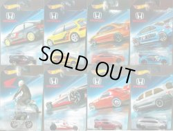 画像1: 【ご予約】PRE-ORDER - 2018 HW HONDA 70th ANNIVERSARY SERIES 【8種セット】85 CR-X/90 CIVIC EF/CIVIC COUPE/CIVIC SI/MONKEY Z50/HONDA RACER/S2000/ODYSSEY(6月末頃入荷予定)