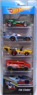 2017 5PACK 【FAN STANDS】Carbonic / Two Timer / Let's GO / Speedbox / GT Hunter