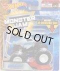2018 MONSTER JAM includes RE-CRUSHABLE CAR! 【MEGALODON】 SILVERBLUE (EPIC ADDITIONS)