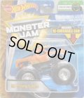 2018 MONSTER JAM includes RE-CRUSHABLE CAR! 【EL TORO LOCO】 ORANGE (CREATURES)