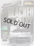 2018 JOHNNY LIGHTNING - STREET FREAKS S1 【1955 FORD PANEL DELIVERY】 FLAT BLACK/RR (BLACKED OUT)