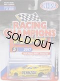 2018 RACING CHAMPIONS MINT COLLECTION R1A 【2017 MATT HAGAN NHRA FUNNY CAR (PENZOIL)】 YELLOW/RR (2500個限定)