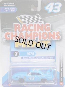 画像1: 2018 RACING CHAMPIONS MINT COLLECTION R1B 【1970 RICHARD PETTY PLYMOUTH SUPERBIRD】 LT.BLUE/RR (2500個限定)