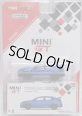 2018 TSM MODELS - MINI GT 【HONDA CIVIC TYPE-R】 AEGEAN BLUE/RR (6000個限定)(予約不可)(お一人様1点まで)