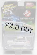"2018 JOHNNY LIGHTNING - ""MIJO EXCLUSIVE"" 【""GHOSTBUSTERS"" 1959 CADILLAC ELDORADO ECTO 1A】 WHITE/RR (WHITE LIGHTNING)"