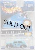 2002 WALMART EXCLUSIVE MOTOR CITY CLASSICS 【FAT FENDERED '40】 TEAL/RR