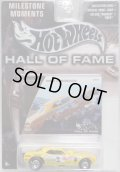 "2003 HALL OF FAME - MILESTONE MOMENTS 【""SNAKE"" PLYMOUTH BARRACUDA】 YELLOW/RR"